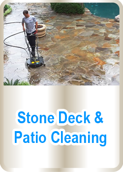 Stone Deck & Patio Cleaning