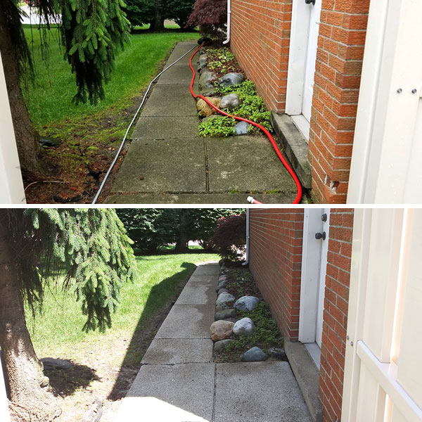 Drives & Walkway Cleaning