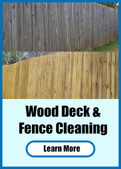 Wood Desk & Fences Cleaning